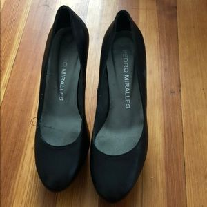 Pedro miracles heels , 4 inches,worn once